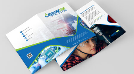 brochure, flyer, design, print, creative, Sase Charleston, science, tech, logo, mockup, marketing, advertising