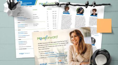 Brochure, Woman, score, design, creative, program, agenda, logo,