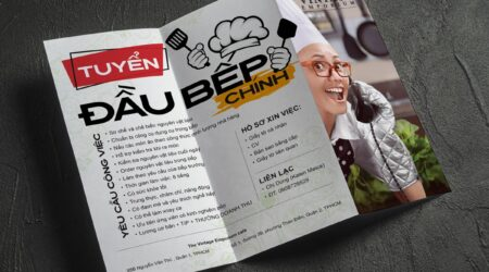 Flyer, Brochure, Print, Printing, Folded, Trifold, Design, Creative, Cook, Restaurant, kitchen