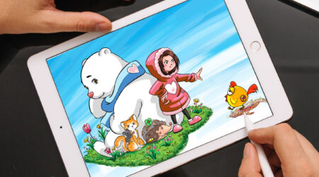 sketch, creative, design, color, painting, draw, drawing, animation, color, book, children, kid, girl, book