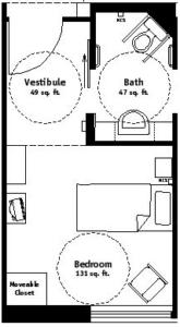 Private Room Floor Plan