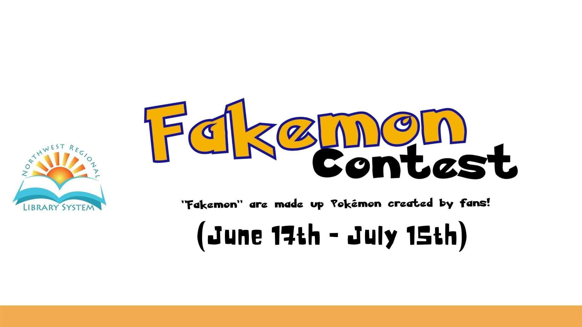 Fakemon Contest
