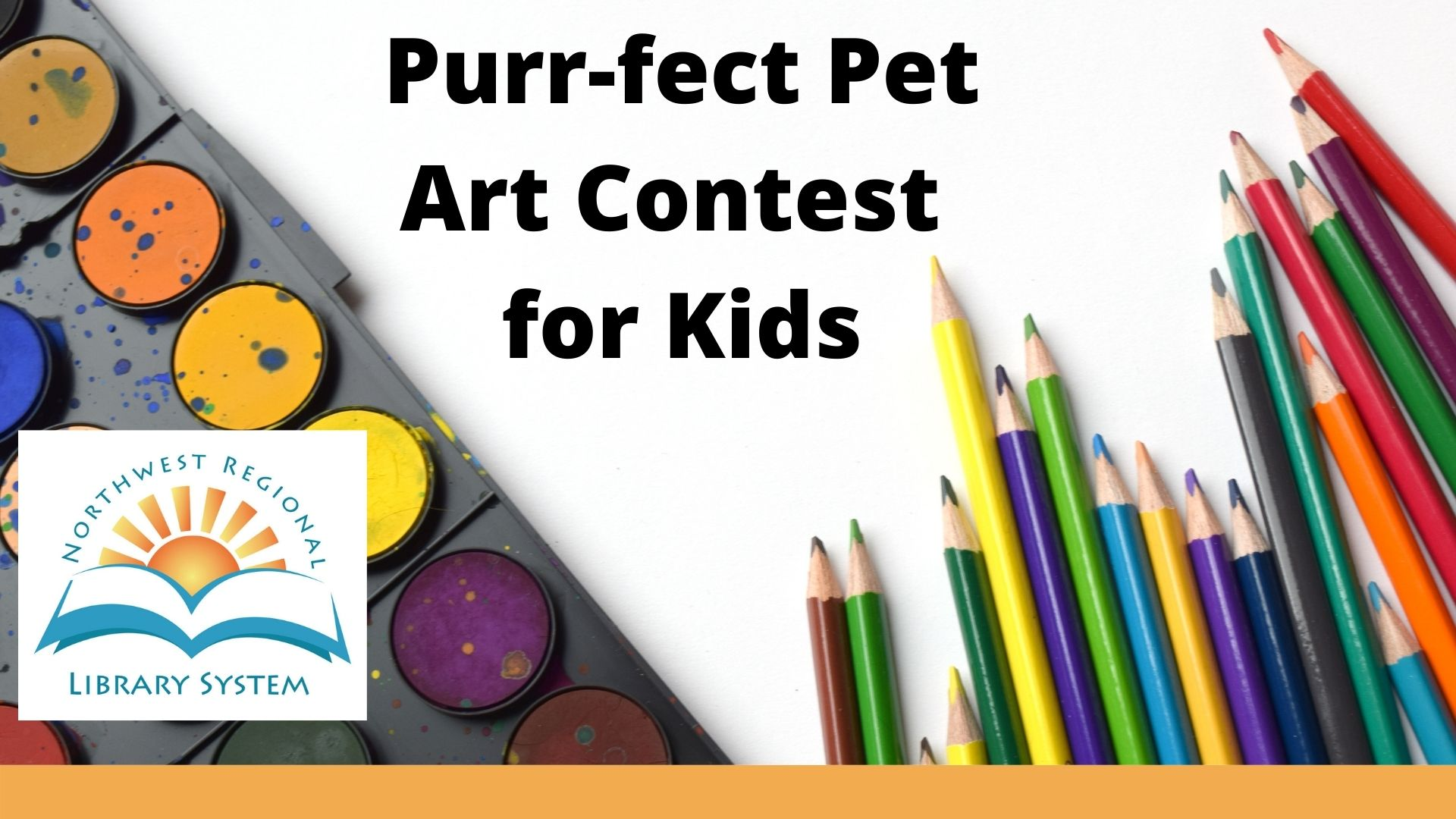Perfect Pet Art Contest for Kids