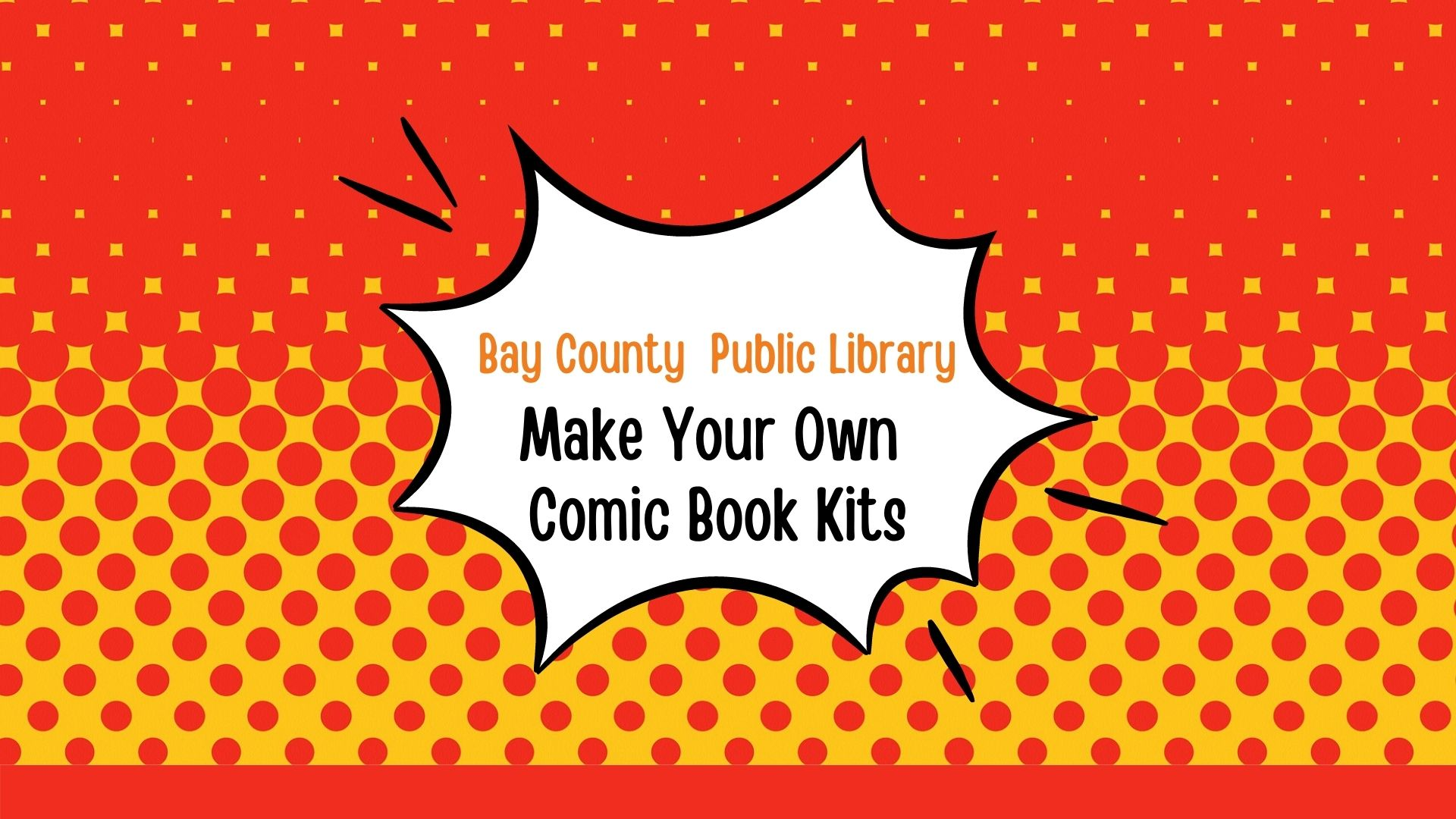 Make Your Own Comic Book Kits