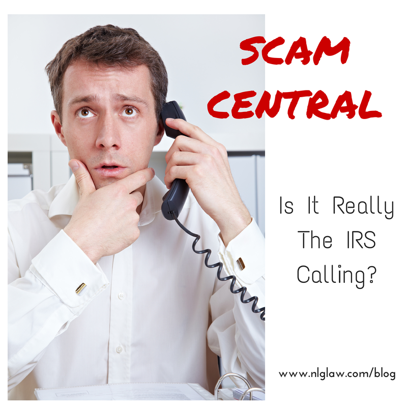 Scam Central – Is It Really The IRS Calling?