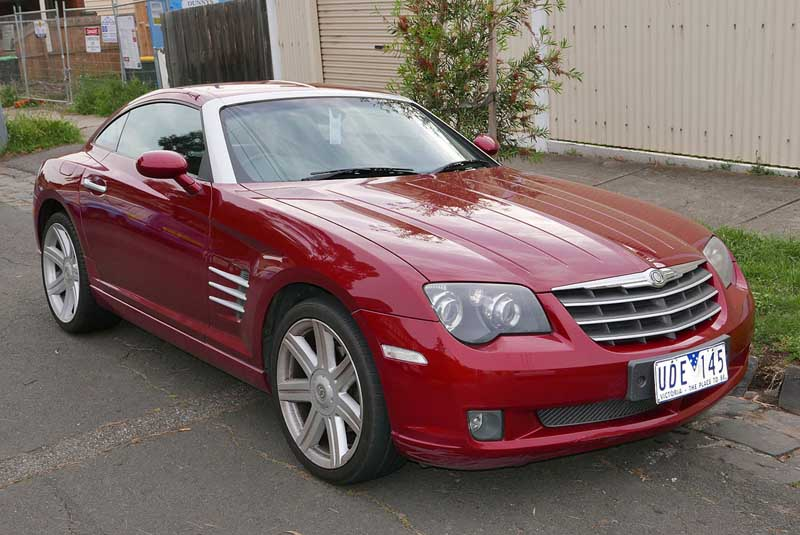 chrysler crossfire auto glass repair
