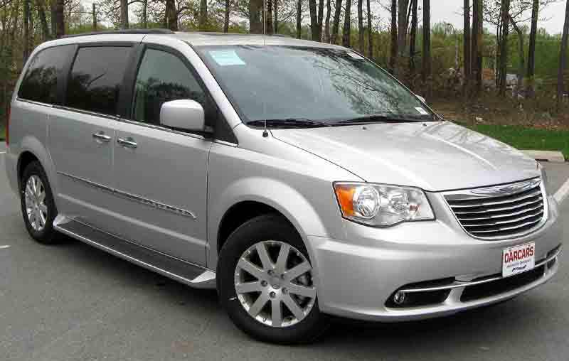 chrysler Town & Country auto glass repair
