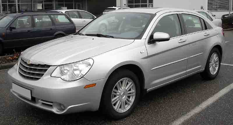 chrysler Sebring auto glass repair