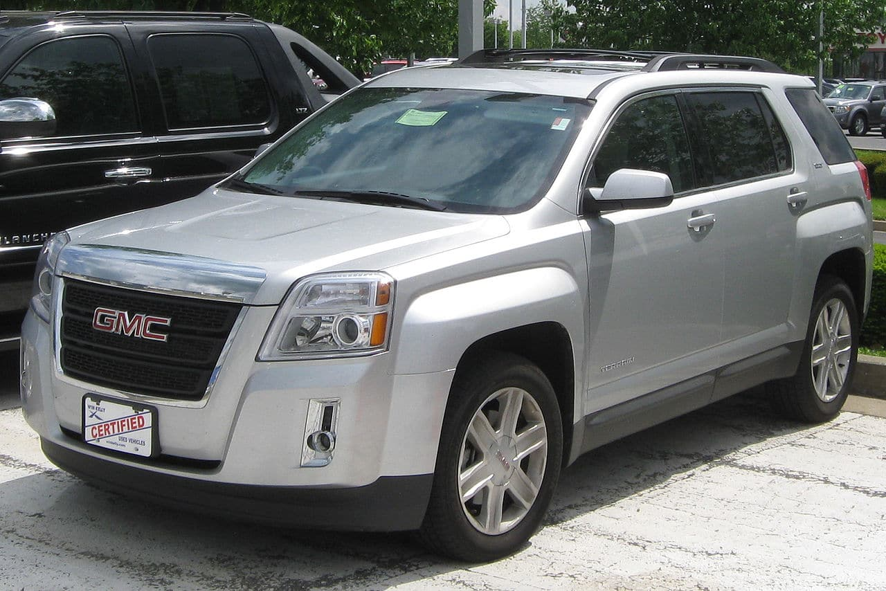 GMC Terrain SUV Auto Glass Repair