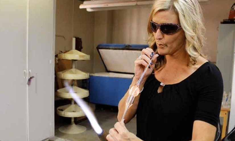 Christine Roeger leads Scientific Glassblowing Facility