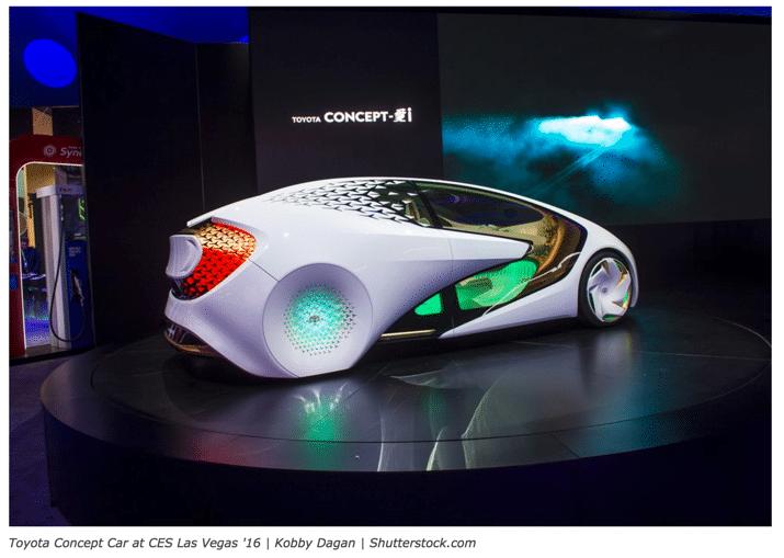 Future Toyota Concept Car