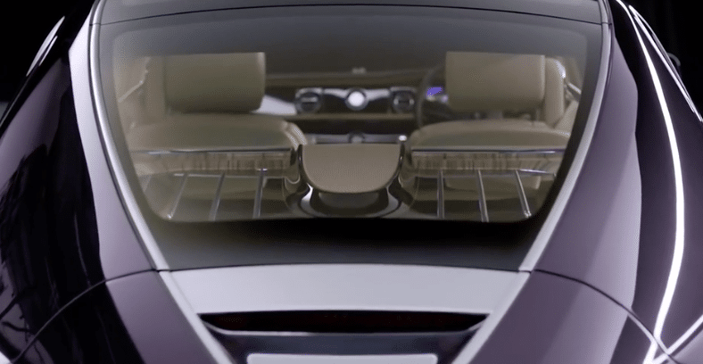 Rolls Royce Glass Roof