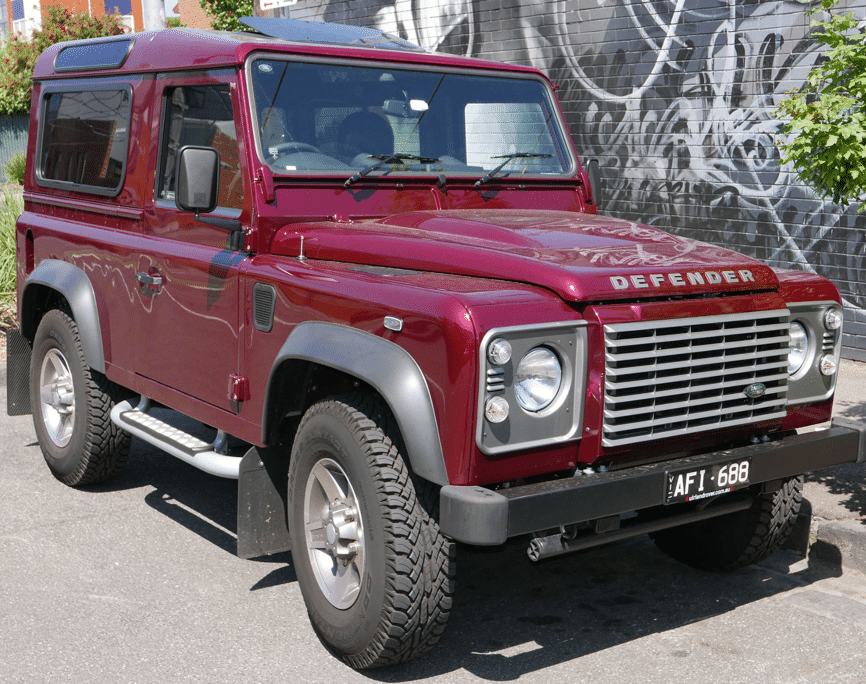 Land Rover Defender 90 Glass & Rock Chip Repair