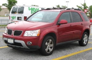 Pontiac Torrent auto glass repair phoenix