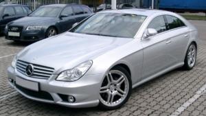 Mercedes CLS Class top window repair