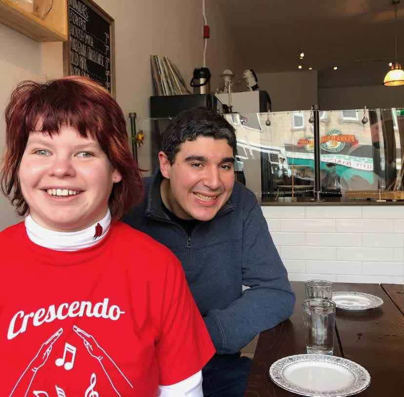 faces with adults with disabilities