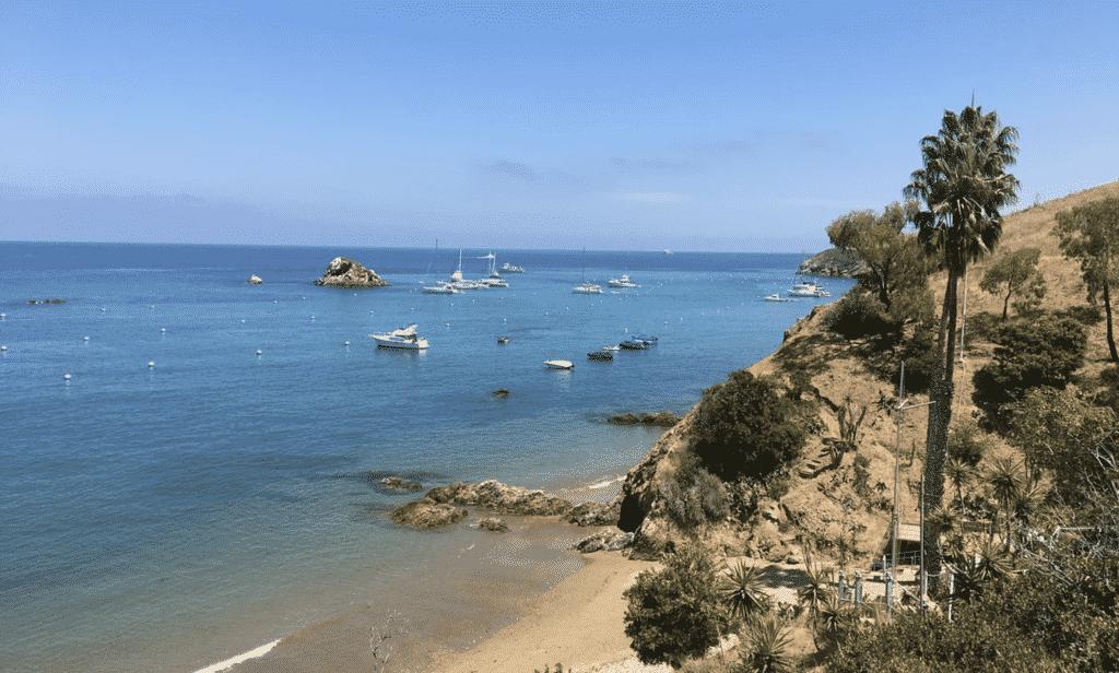 view, Catalina Island, California