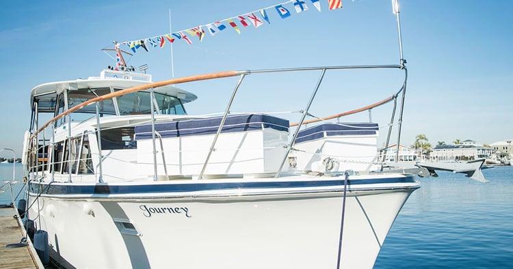 luxury yatch cruises Huntington Harbour