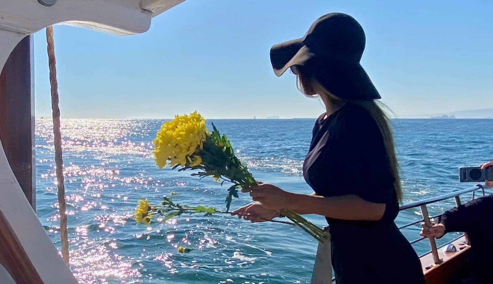 Flowers for Sea Burial