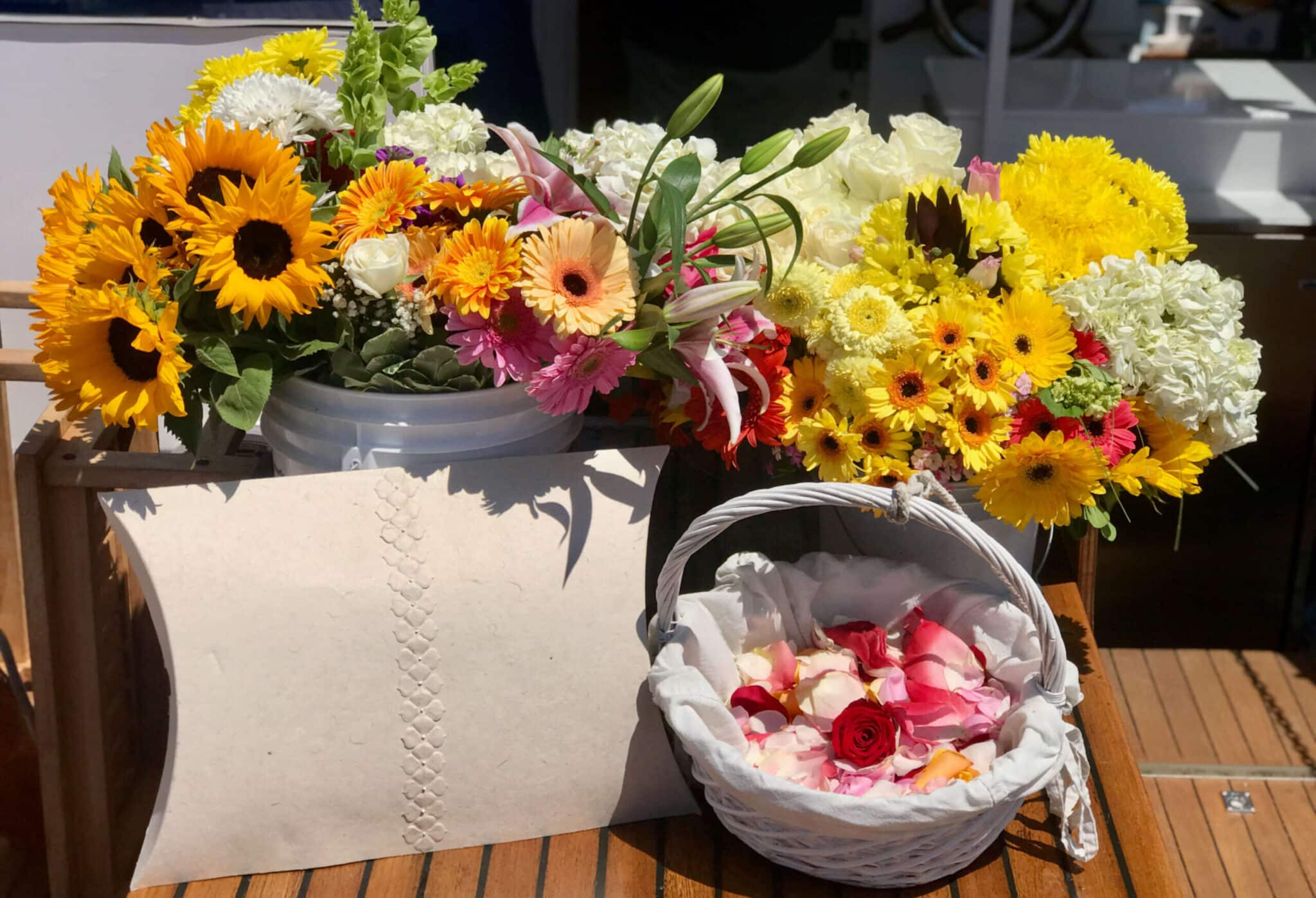 Biodegradable with Flowers