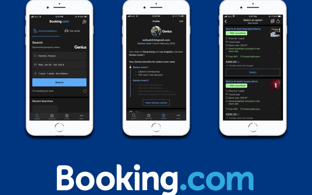 Micro-interaction Redesign: Booking.com