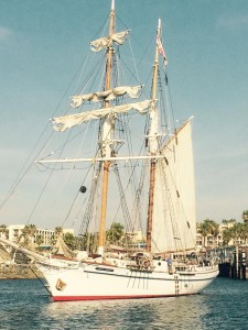 tall ship king harbor marina