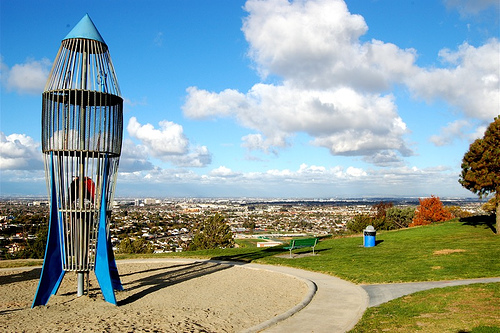Hollywood Riviera's Famed Rocketship Park – You are Invited to discuss the new play equipment