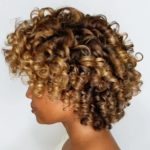 Babylights on curls from Ecocentric Beauty salon.