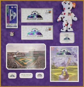 colorado rockies memorabilia framing