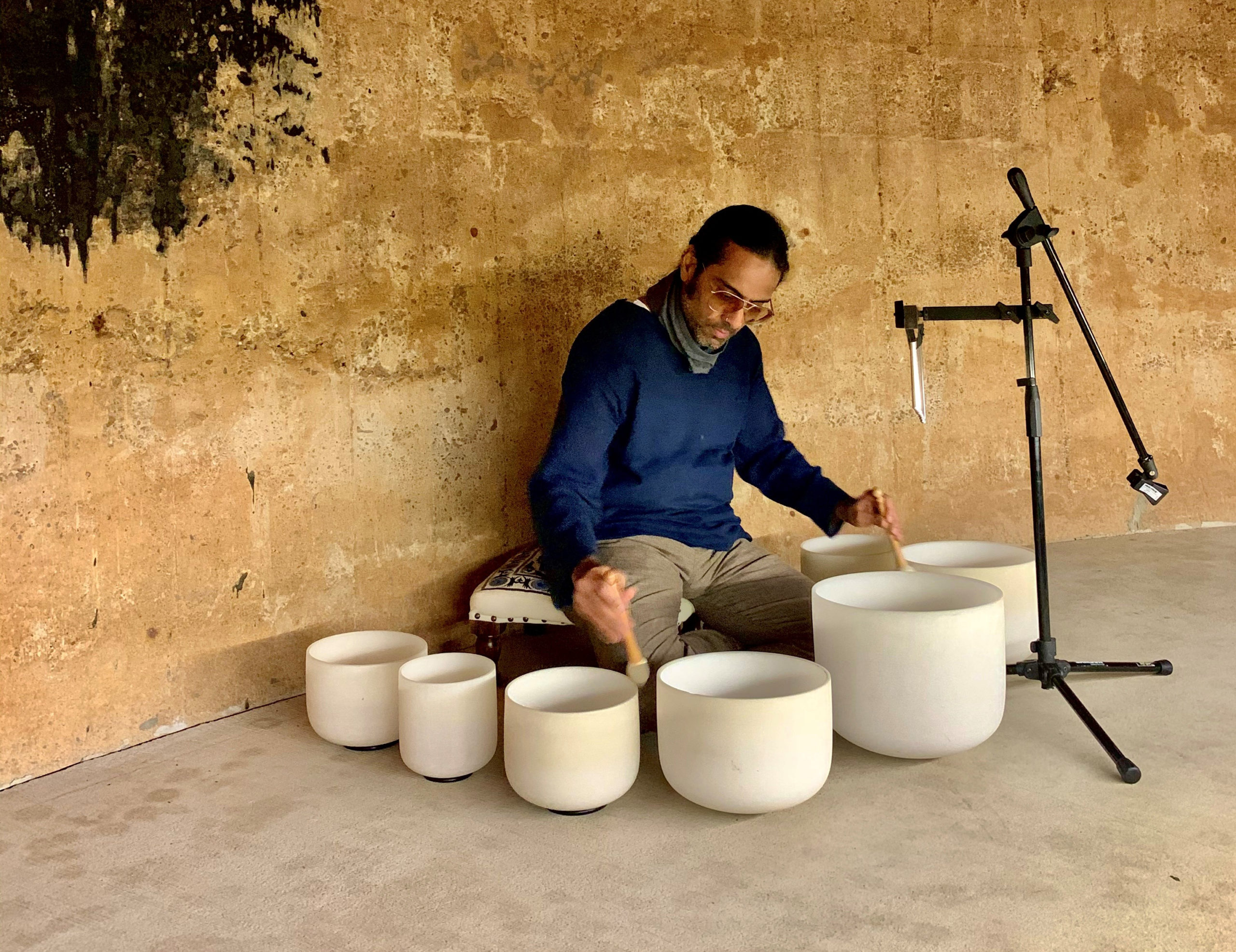 Sound Healing Meditation in the Cistern