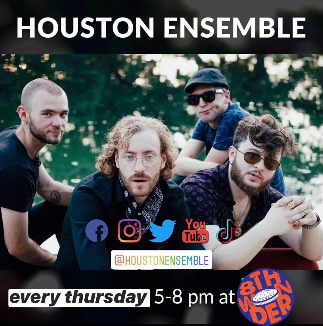 Thursday Jazz with Houston Ensemble at 8th Wonder Brewery