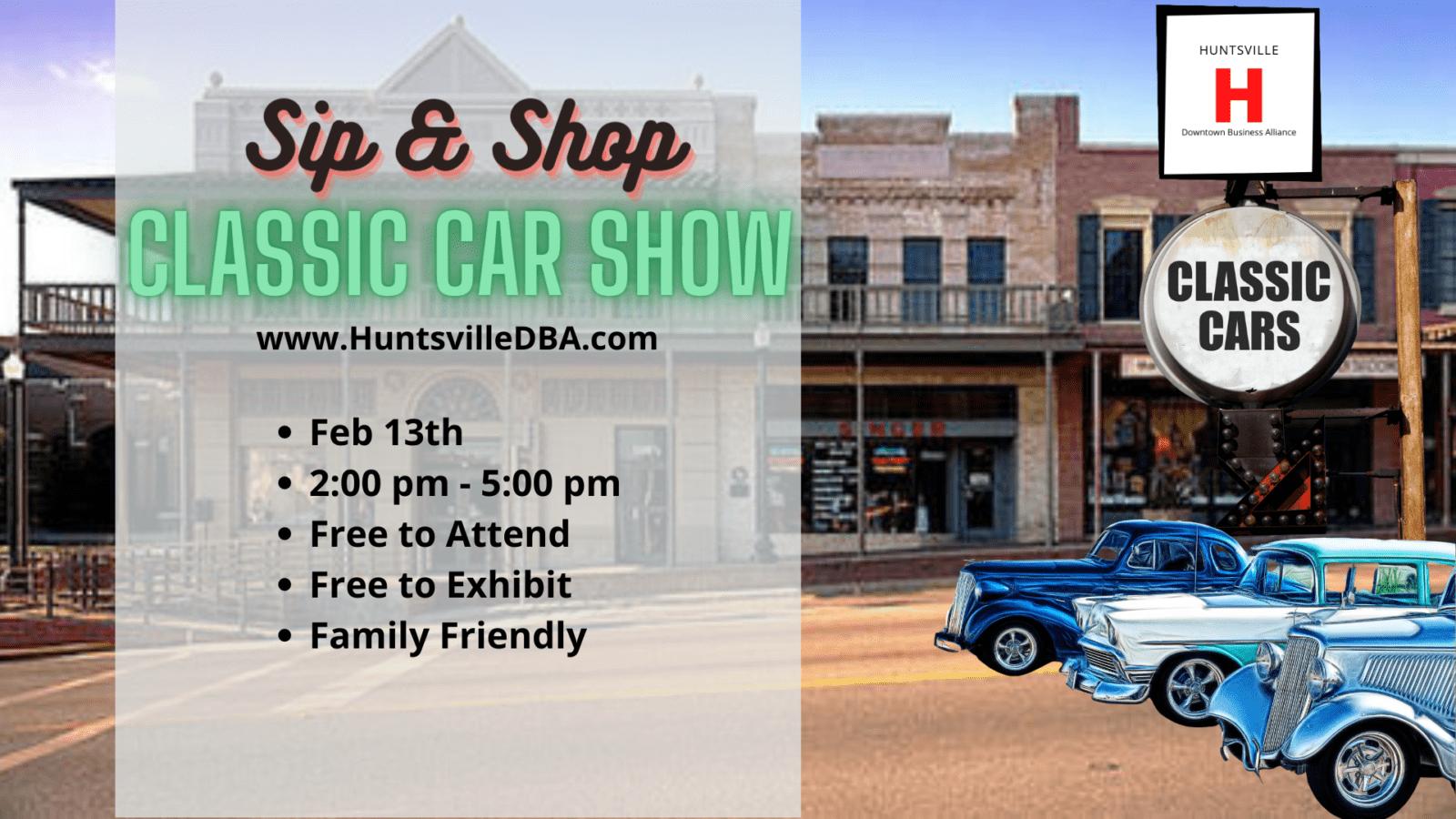 Huntsville Classic Car Show