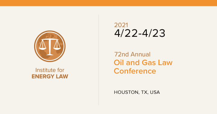 72nd Annual Oil and Gas Law Conference