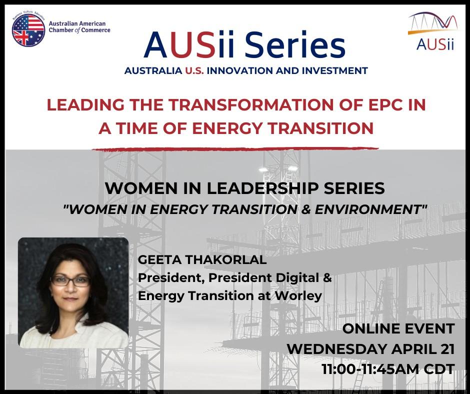 Australian American Chamber of Commerce Texas (AACC) EPIC Energy