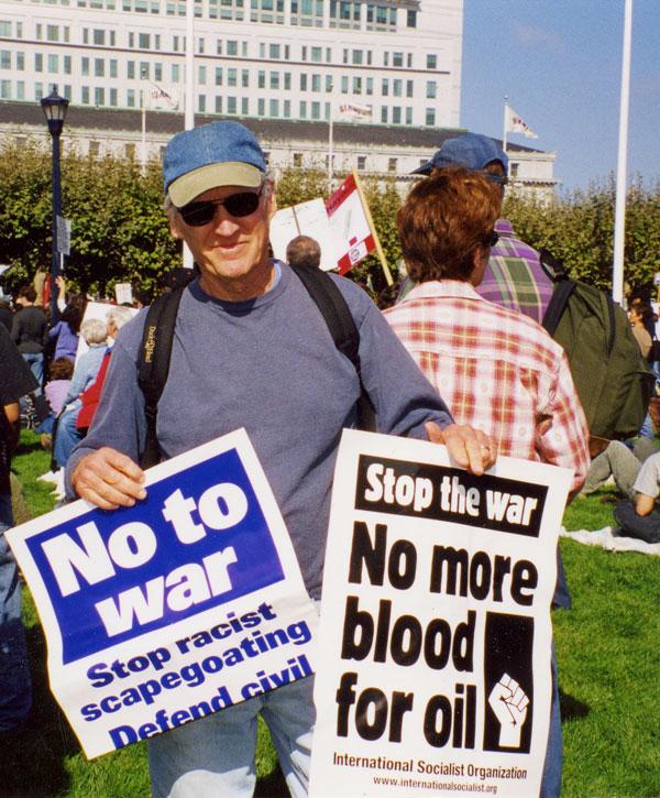 Ken Kolsbun - peace activist