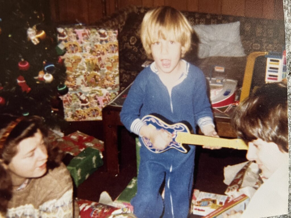 First Gig Casey's Childhood Picture