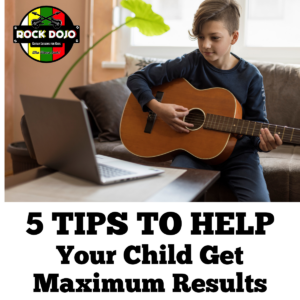 Help your child get maximum results from guitar lessons for kids with these five tips.