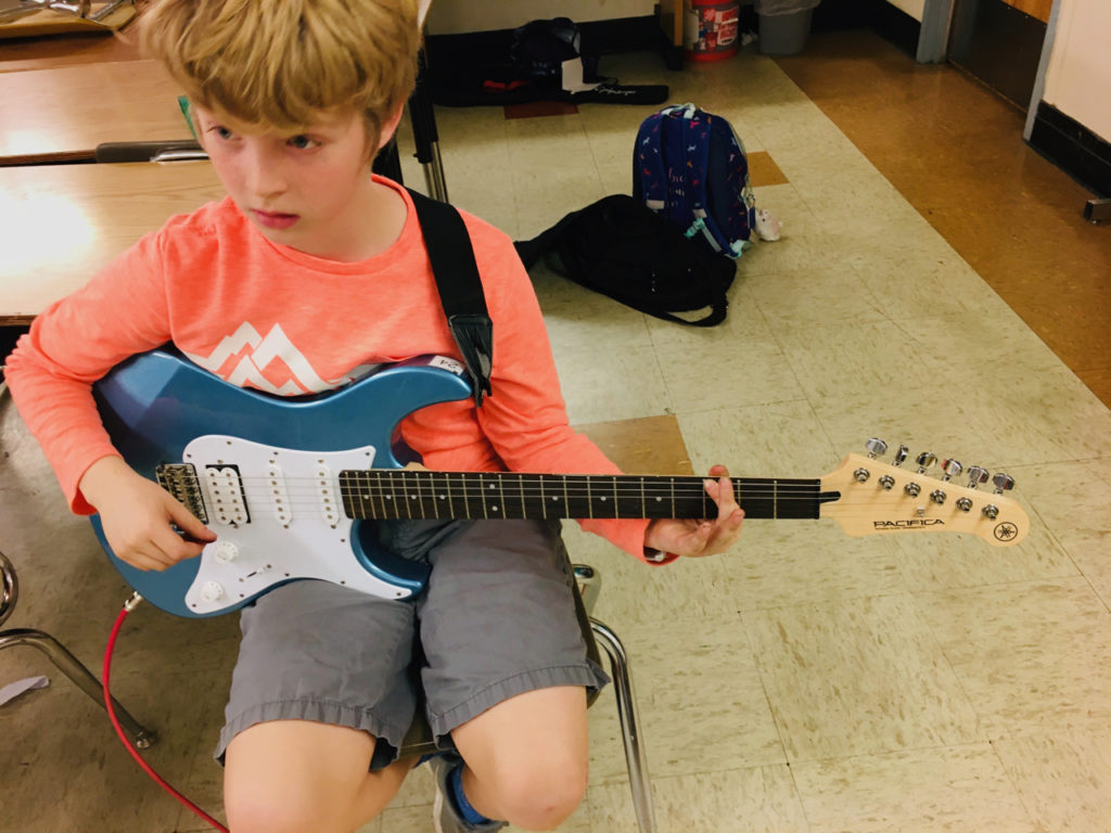 Rock Dojo Guitar Student of the Month