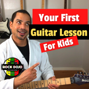 Your First Guitar Lesson for Kids