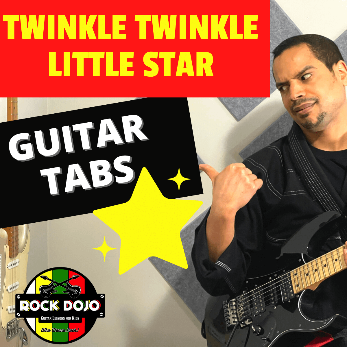 Twinkle Twinkle Little Star Guitar Lessons