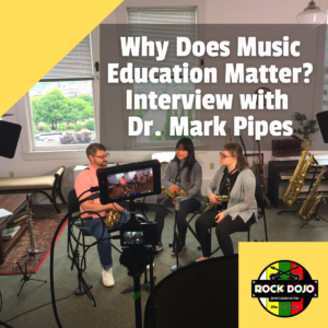 Why Music Education Matters? Interview with Dr. Mark Pipes Rock Dojo Online Guitar Lessons for Kids