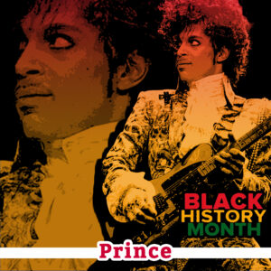 collage of Prince as the greatest guitarist of all time