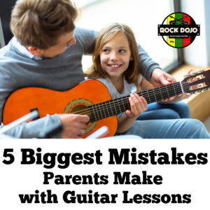 Learn the five biggest mistakes parents make with guitar lessons, so you can avoid them during your child's free online guitar lessons for kids.