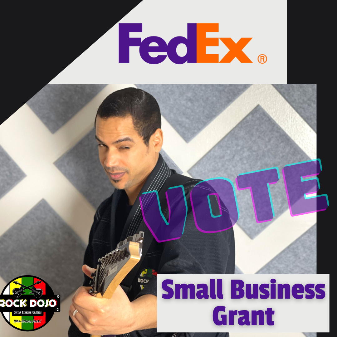 Vote Rock Dojo FedEx Small Business Grant Contest 2021