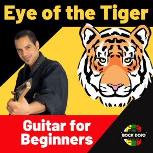 Learn how to play Eye of the Tiger on guitar.