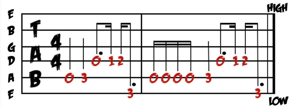Learn how to play heartbreaker on guitar with free guitar tab.