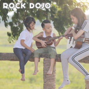 Online Guitar lessons for kids with Rock Dojo