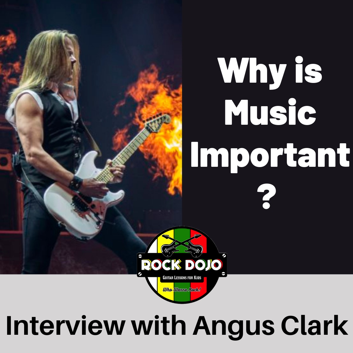 Why is Music Important? Interview with Angus Clark
