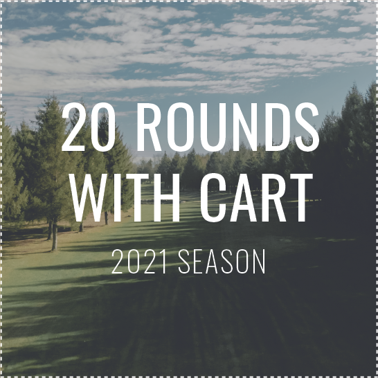 20 Rounds with Cart (Taxes-in)