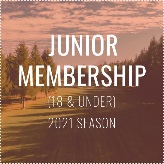 Junior Membership - 2021